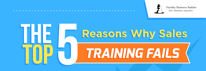The Top 5 Reasons Why Sales Training Fails (Infographic)