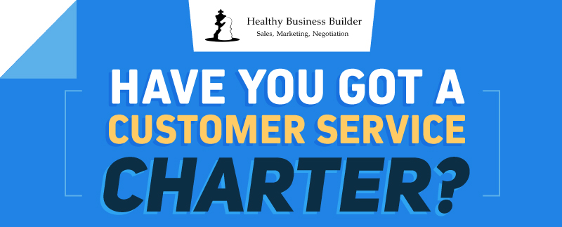Have You Got a Customer Service Charter? (Infographic)