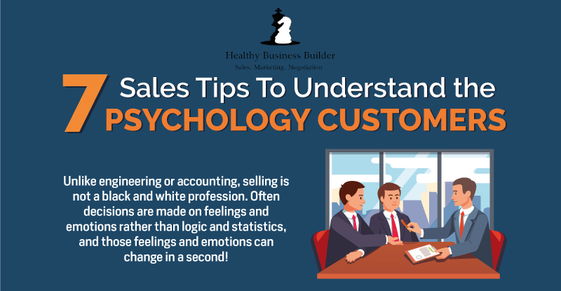 7 Sales Tips to Understand the Psychology of Customers! (Infographic)