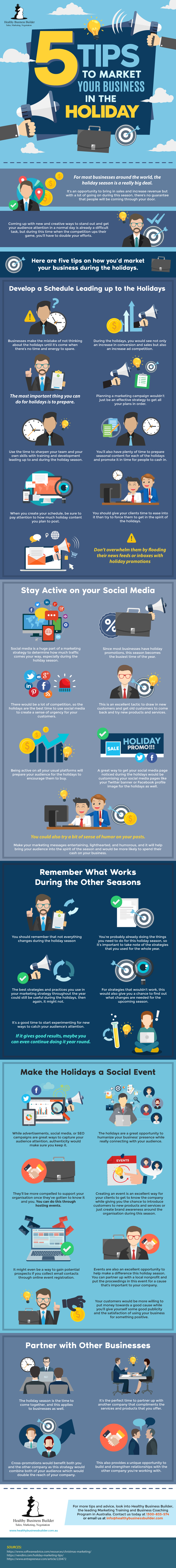 5 Tips to Market your Business in the Holiday