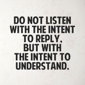 Customer Service Independent Reports Listening vs Hearing quote