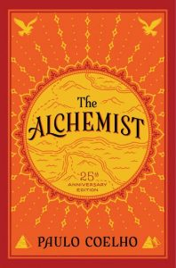 The Alchemist book cover for self growth must-reads in lockdown